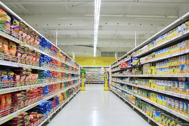 飲料水・加工食品格安卸事業のイメージ